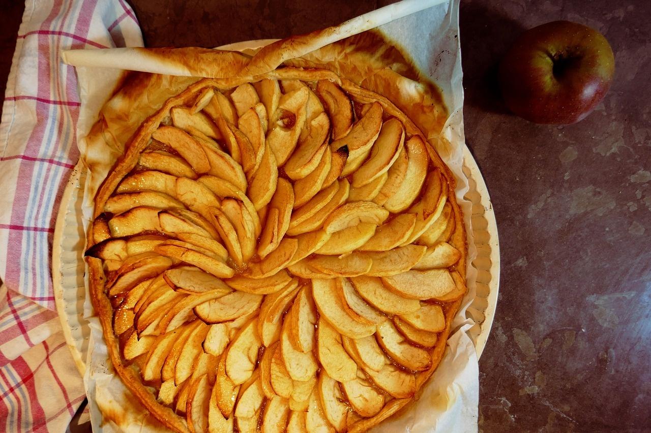 Obuolių pyrago istorija