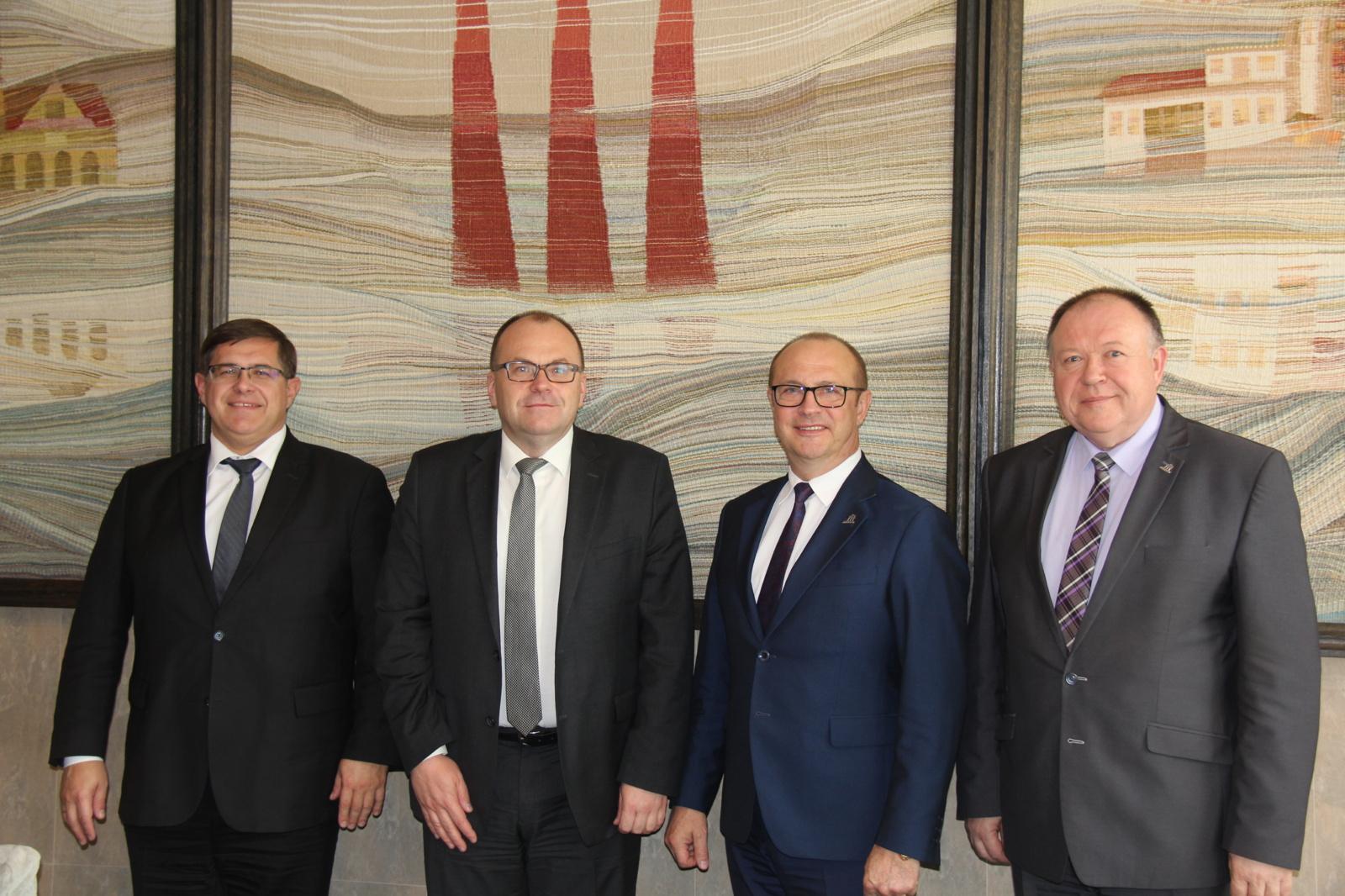 Druskininkų vadovai priėmė Baltarusijos diplomatus
