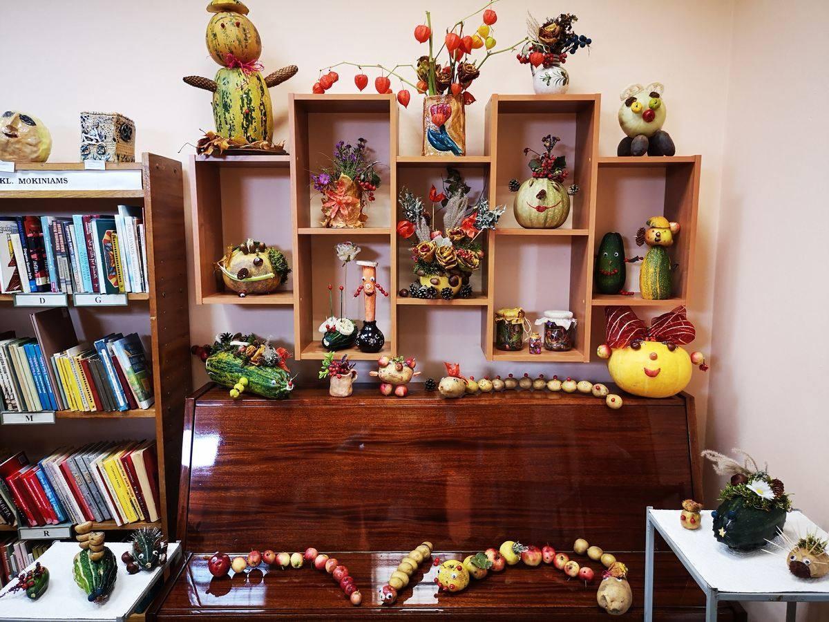 Skuode - rudens gėrybių dirbtuvėlė