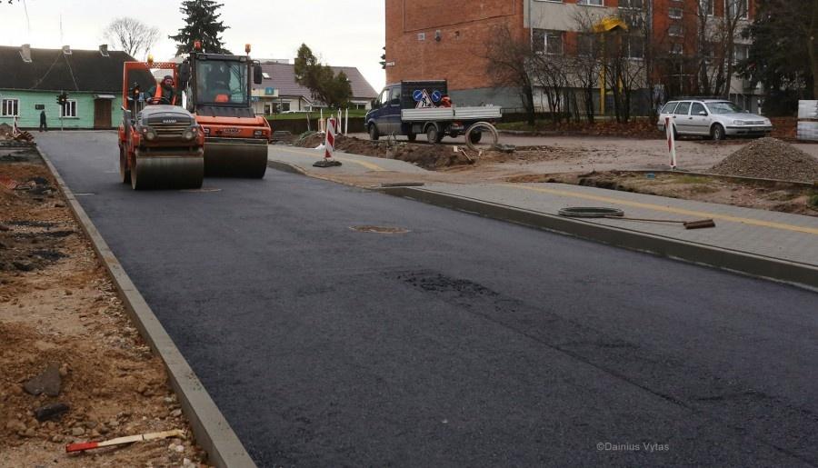 Ukmergėje bus rekonstruota Klaipėdos gatvė