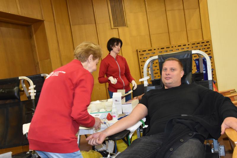 """""""Sūduvos kraitė 2019"""" metu - kraujo donorystės akcija"""