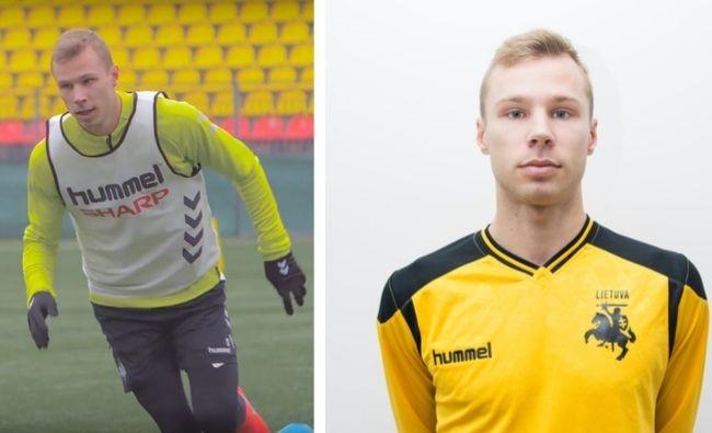 Futbolininkas J. Kasparavičius: didžiulė garbė būti rinktinėje