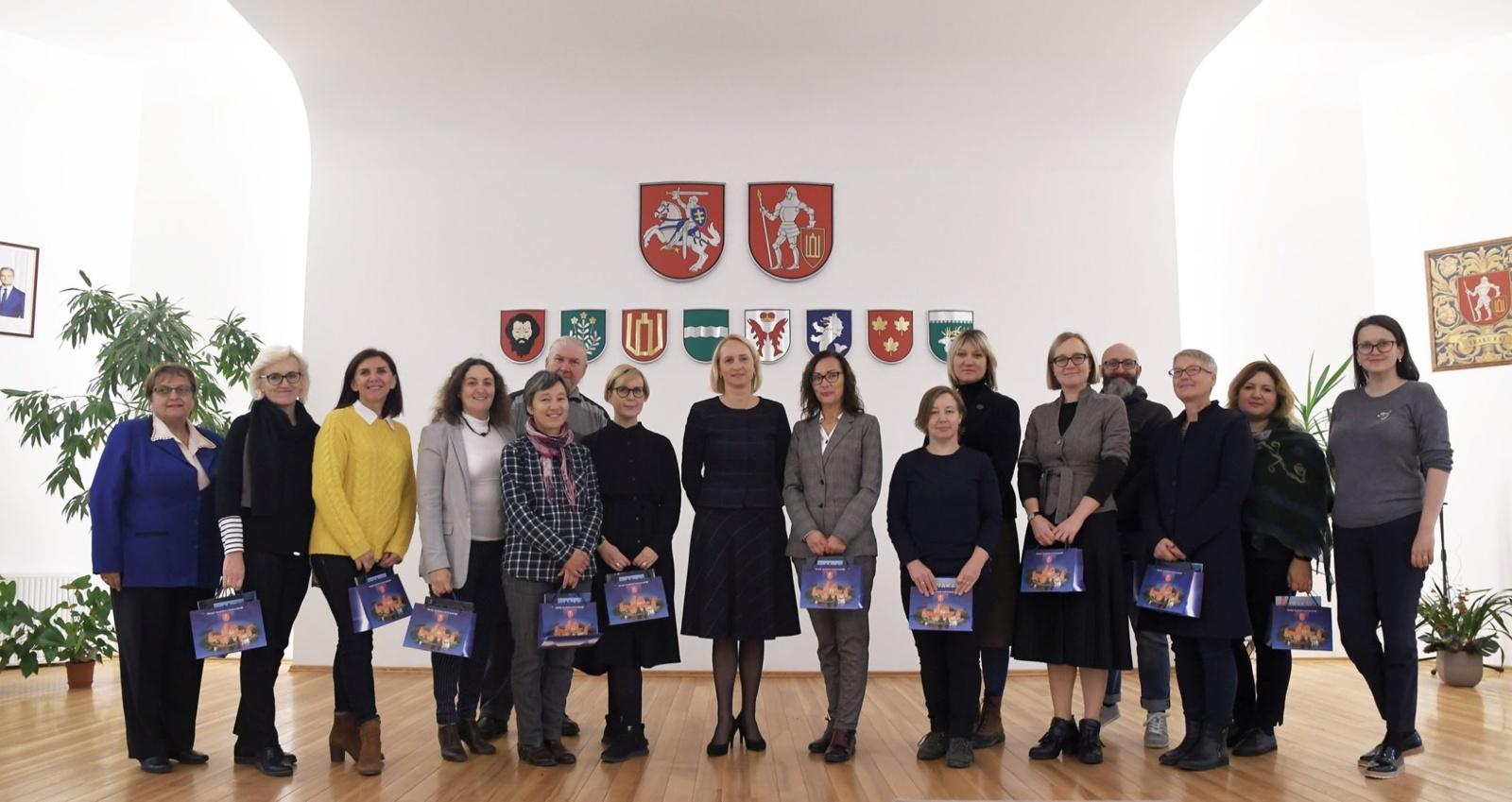 Vilniaus apskrities regioninės kultūros tarybos posėdis Trakuose