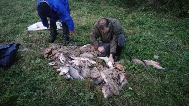 Per pasalą sulaikytiems pažeidėjams reikės atlyginti daugiau nei 3 tūkst. eurų žalą žuvų ištekliams