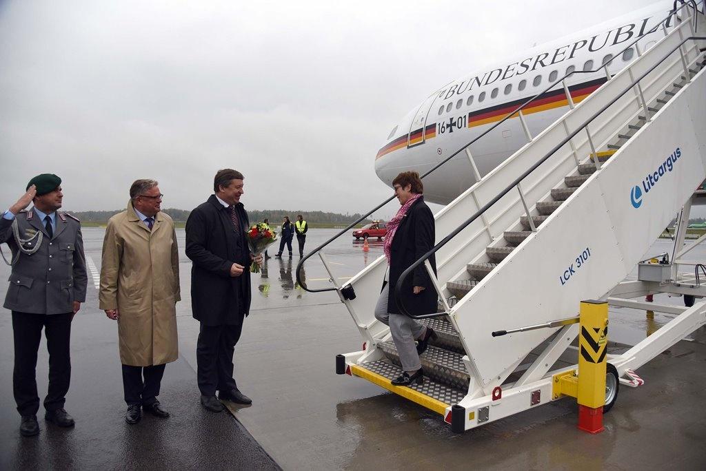Rukloje susitiko Lietuvos ir Vokietijos krašto apsaugos ministrai