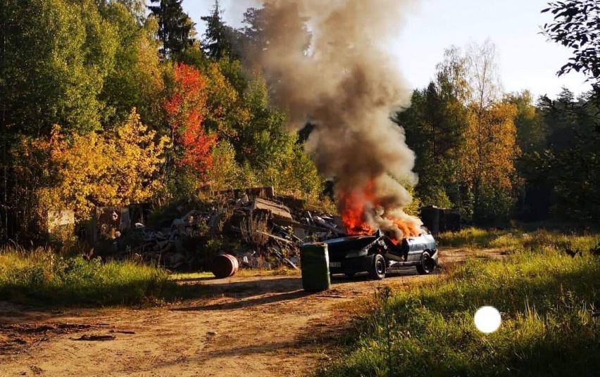 Lengvųjų automobilių gaisrai ir jų gesinimas