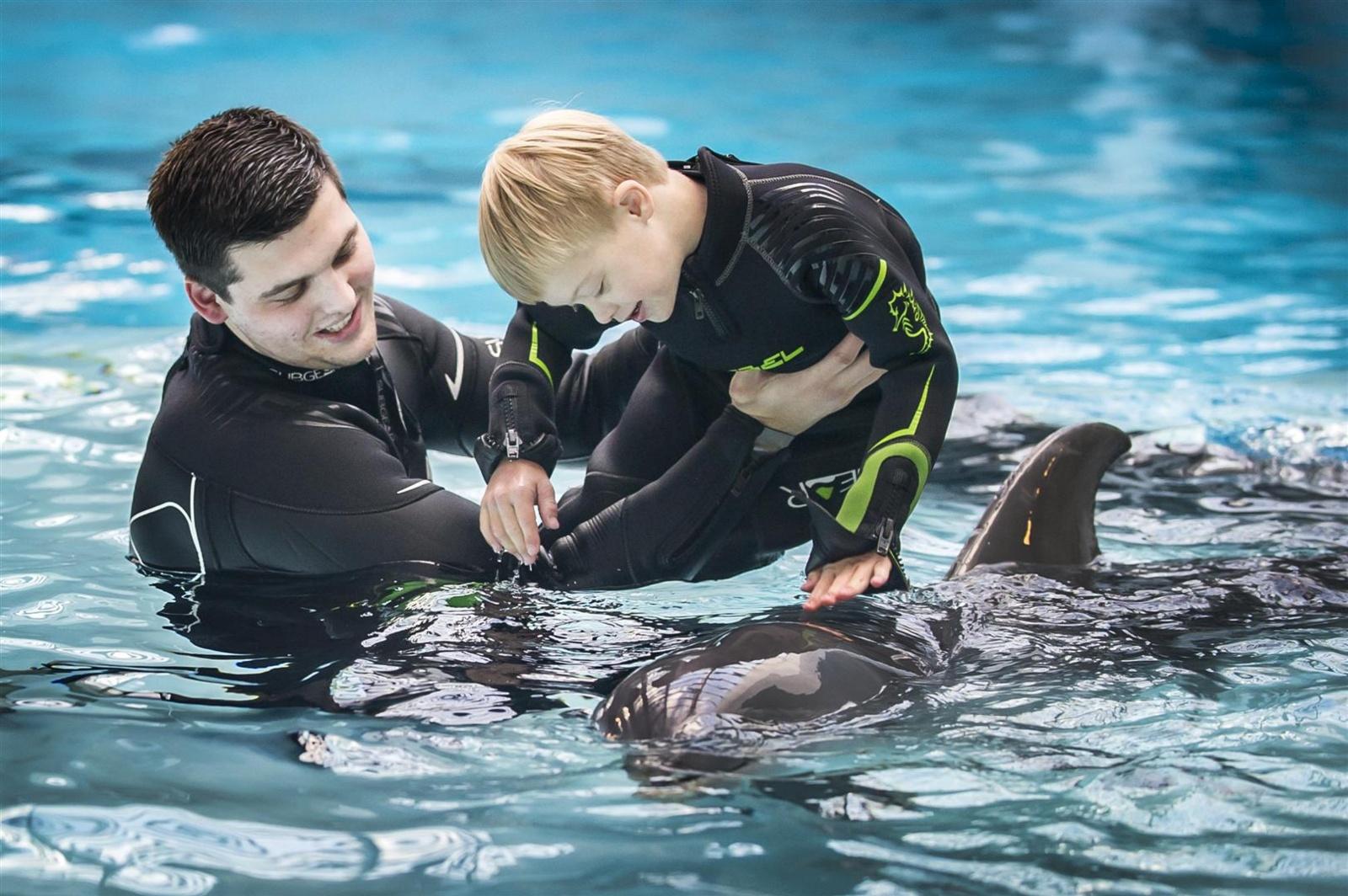 Lietuvos jūrų muziejaus delfinariumas pradeda registruoti į užsiėmimus su delfinais