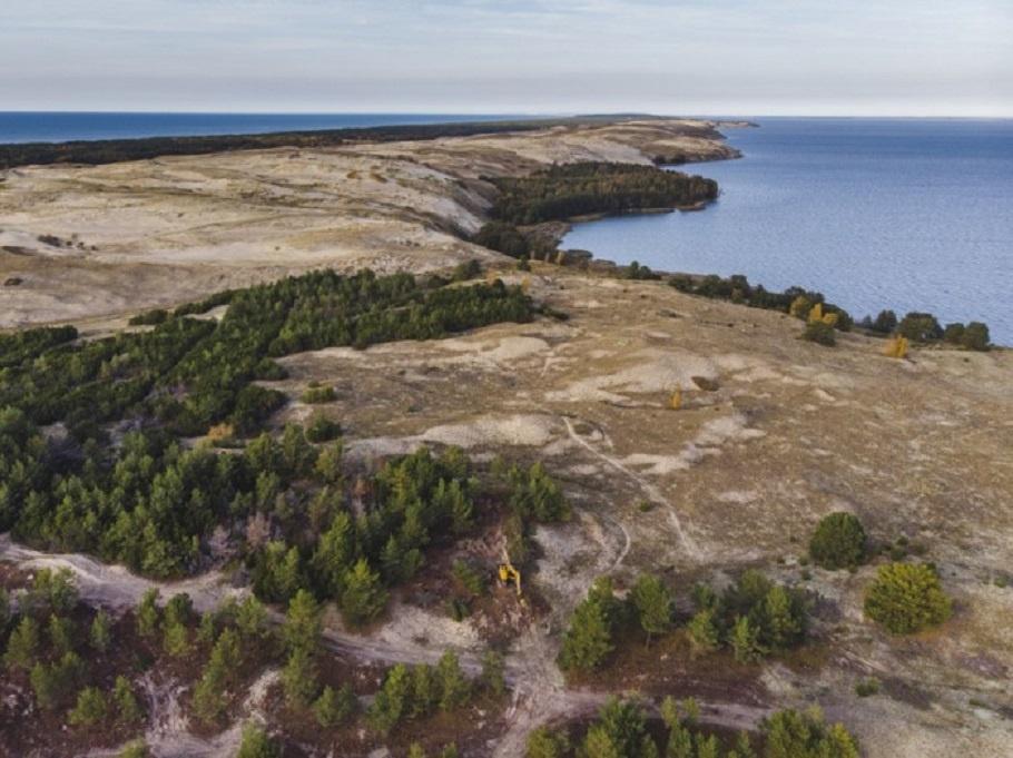 Kuršių nerijos nacionaliniame parke vykdomi gamtotvarkos ir krantotvarkos darbai