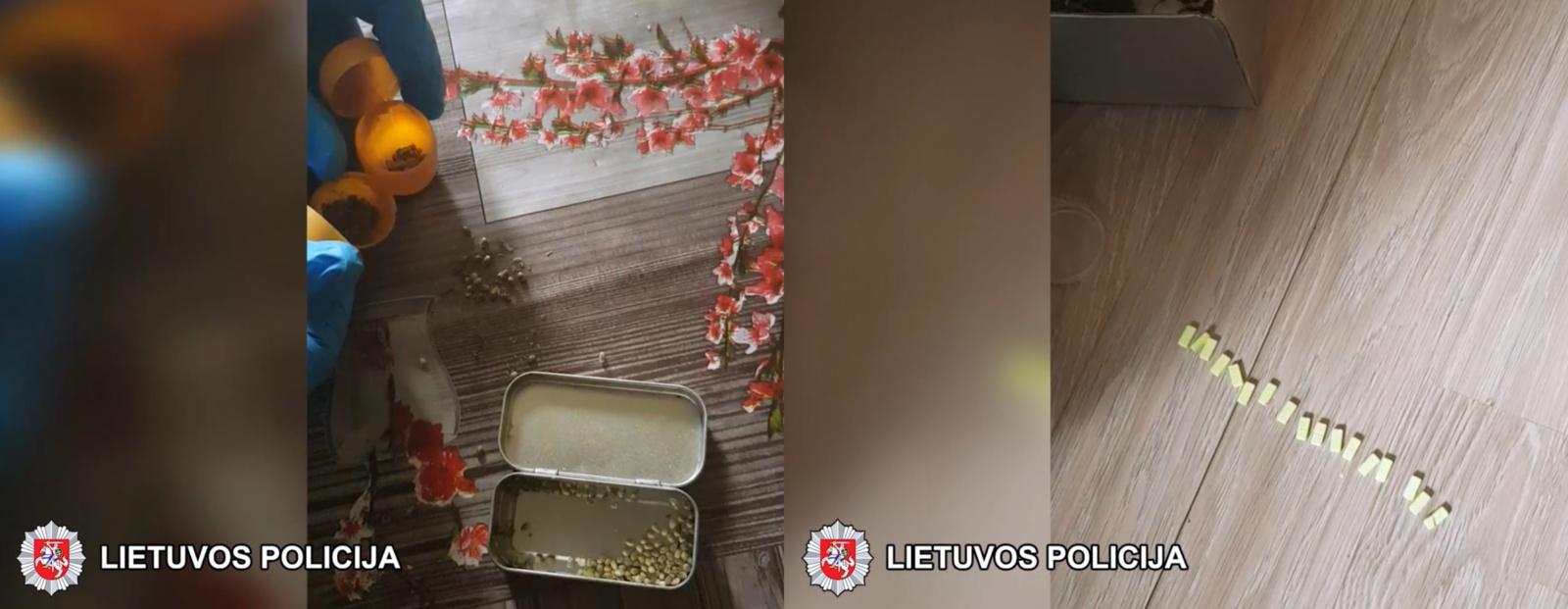 Šalčininkų policija sulaikė du narkotinių medžiagų platintojus, vienas jų – ugniagesys gelbėtojas (vaizdo įrašas)