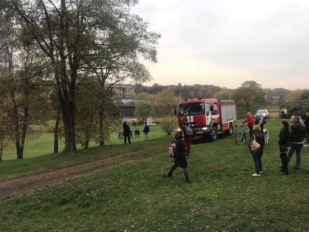 Sujudimas Kauno centre: Nemuno saloje rastas moters kūnas