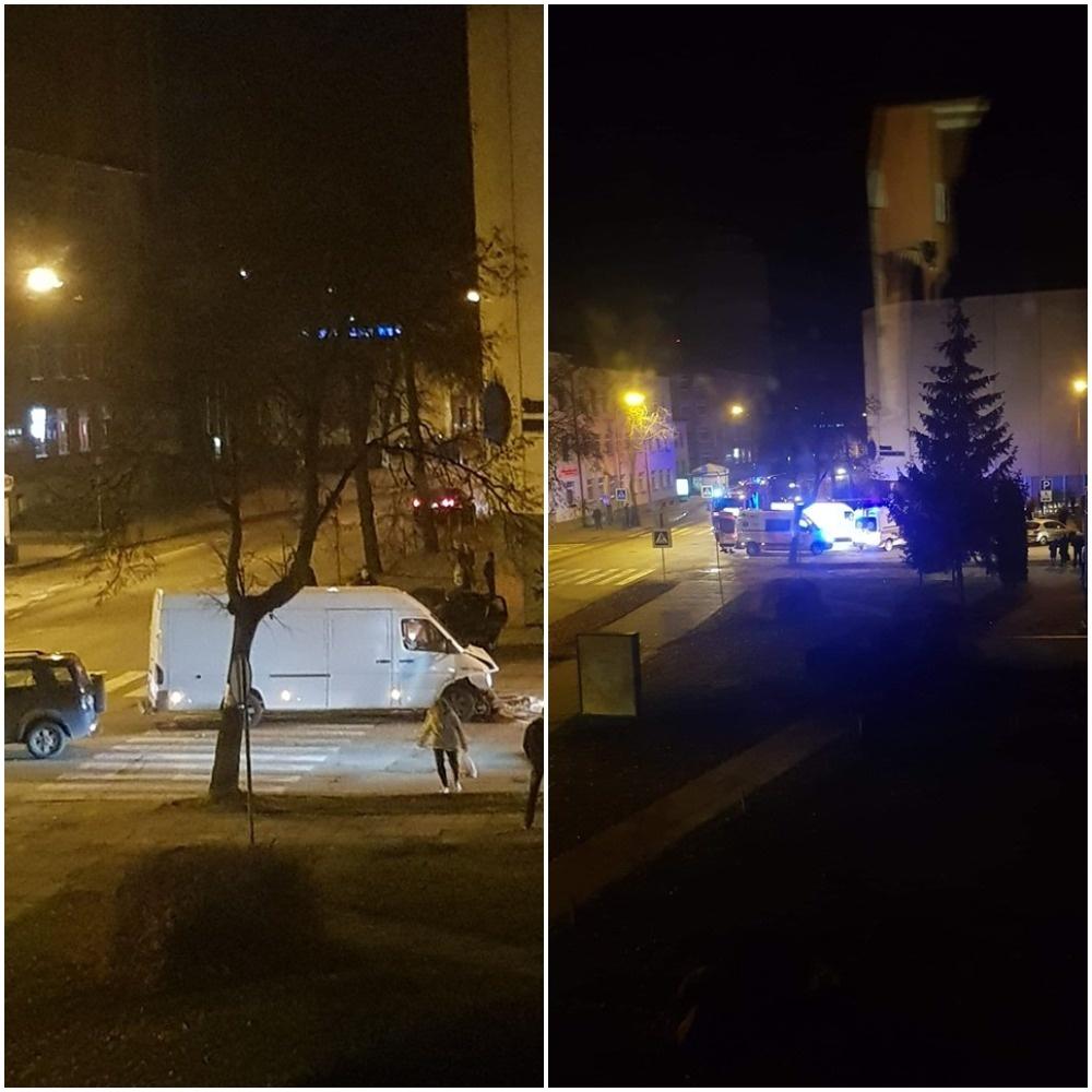 Šiaulių centre įvyko avarija