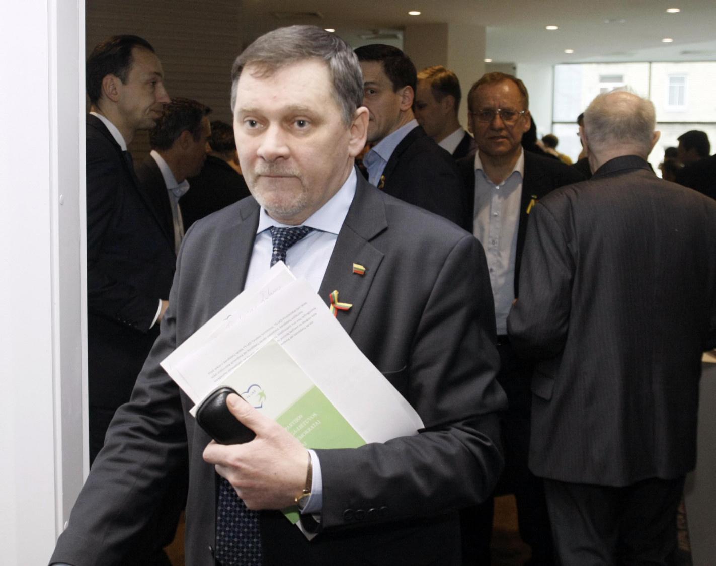 Šeštadienį Lietuvos krikščionys demokratai rinks pirmininką