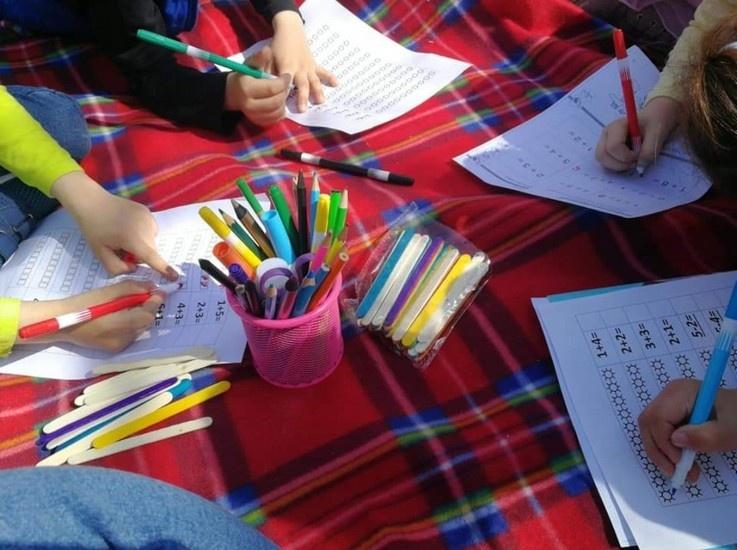 """Šeštadieninė mokyklėlė """"Bingo"""" kviečia smagiai ruoštis mokyklai"""