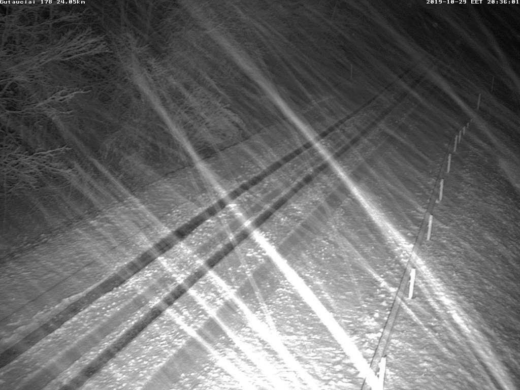 Lietuvoje prasidėjo žiema – iškrito pirmas sniegas