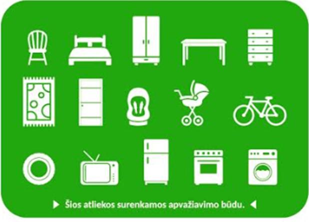 Joniškio rajone bus surenkamos didelių gabaritų atliekos