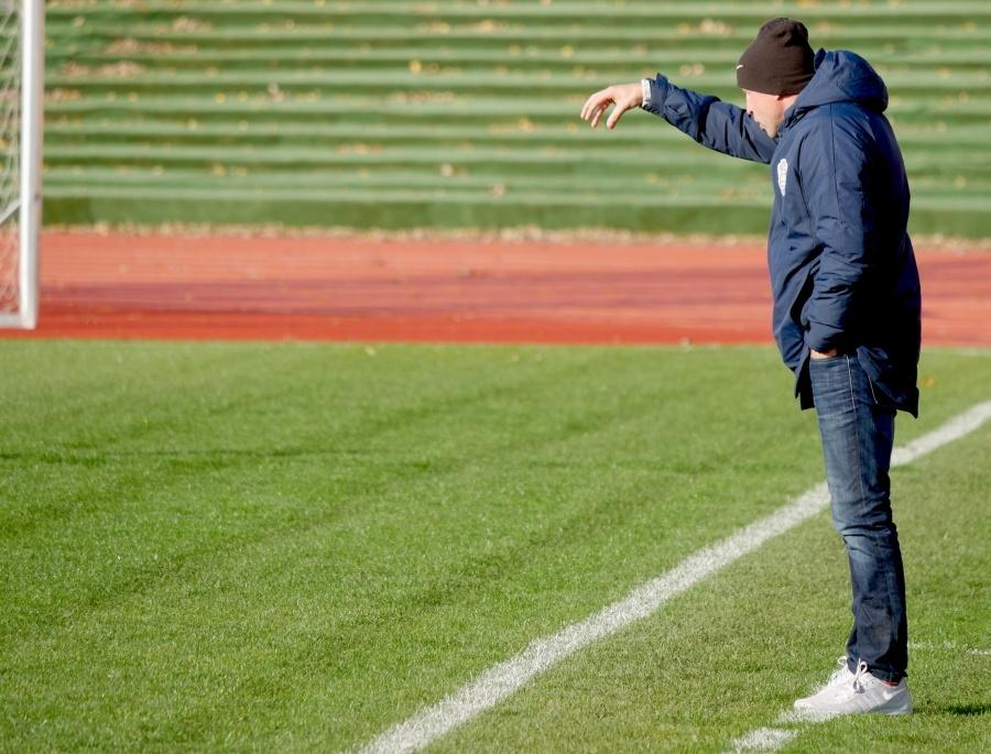 """Treneris V. Dobrecovas palieka """"Atlantą"""""""