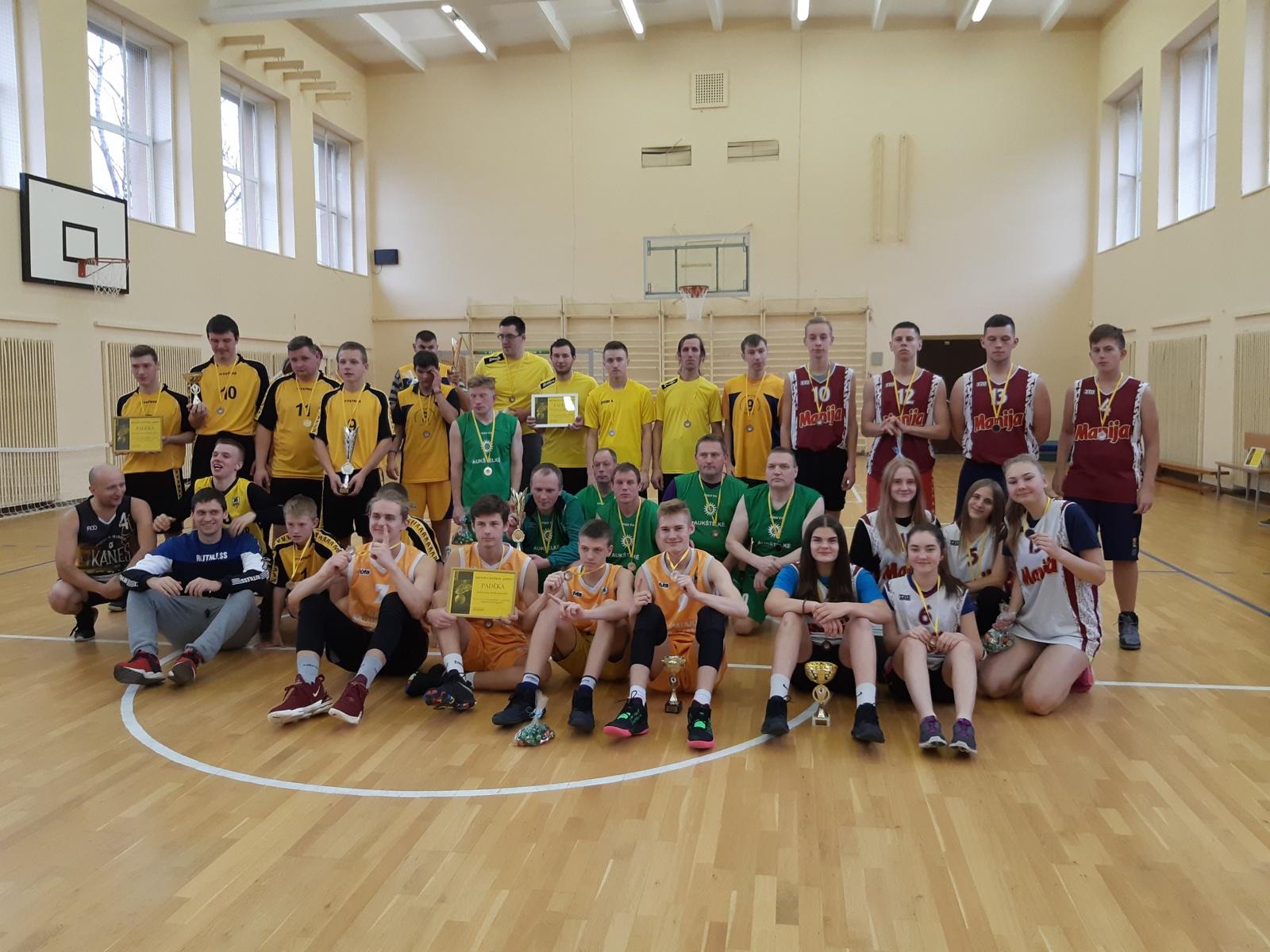 """Stasio Šalkauskio gimnazijoje – krepšinio turnyras """"Godos taurė 2019"""""""