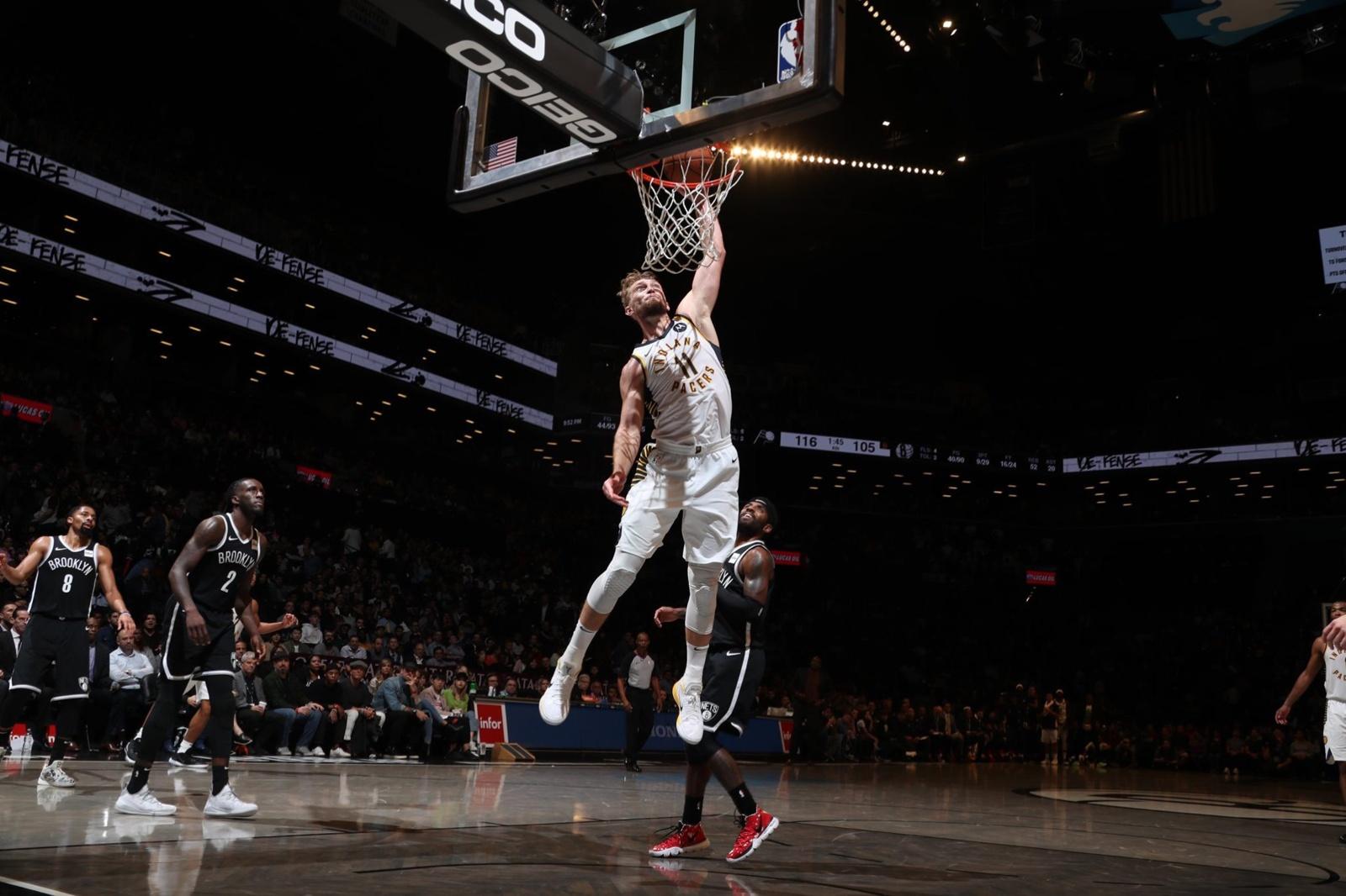 Krepšininkas D. Sabonis dėl traumos praleido NBA rungtynes