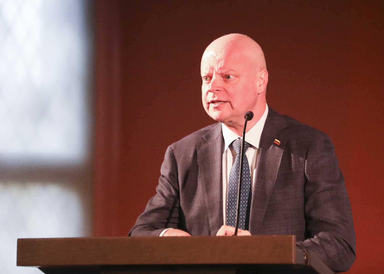 Premjero patarėjas: Ž. Vaičiūnui nesuteikti įgaliojimai pavaduoti S. Skvernelį susitikime su Norvegijos premjere
