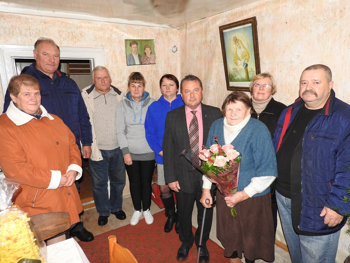 Pasveikinta Vidiškių seniūnijos 90-metė