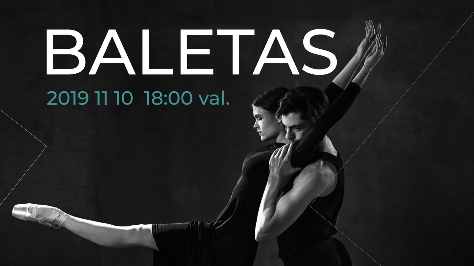Nemokamas profesionalaus baleto pasirodymas Varėnoje
