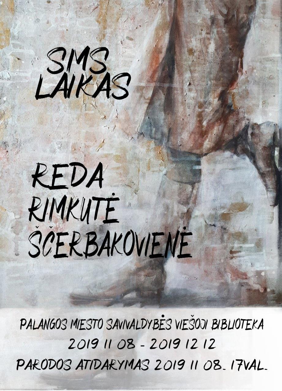 """Bibliotekoje – Redos Rimkutės-Ščerbakovienės parodos """"Sms laikas"""" atidarymas"""