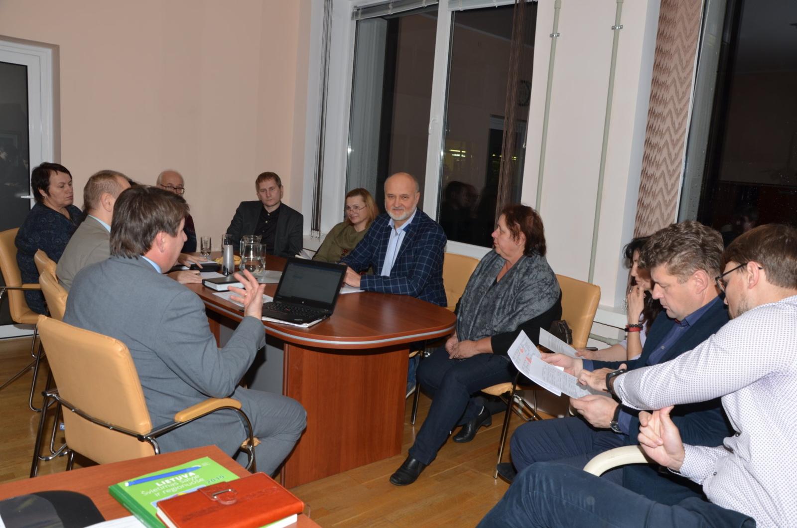 Savivaldybėje aptarti Akmenės – Lietuvos mažosios kultūros sostinės - renginiai