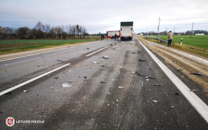 Trečiadienį eismo įvykyje žuvo jaunas vairuotojas