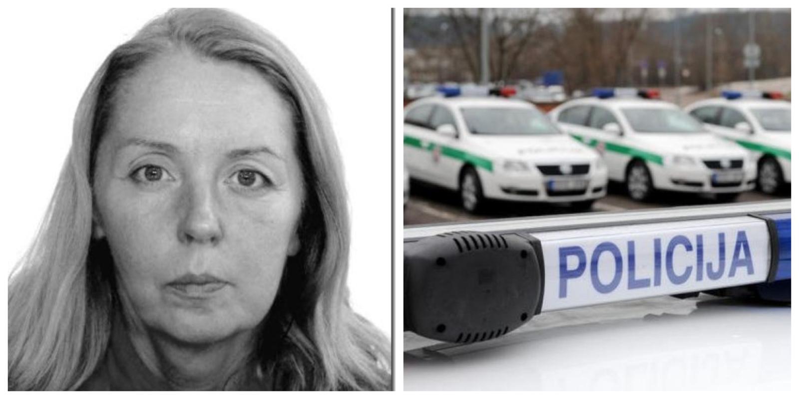 Pareigūnai ieško nusižengimo padarymu įtariamos moters