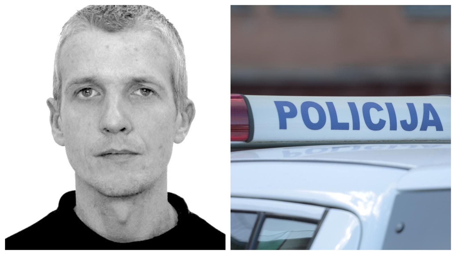 Ieškomas vagystėmis įtariamas asmuo