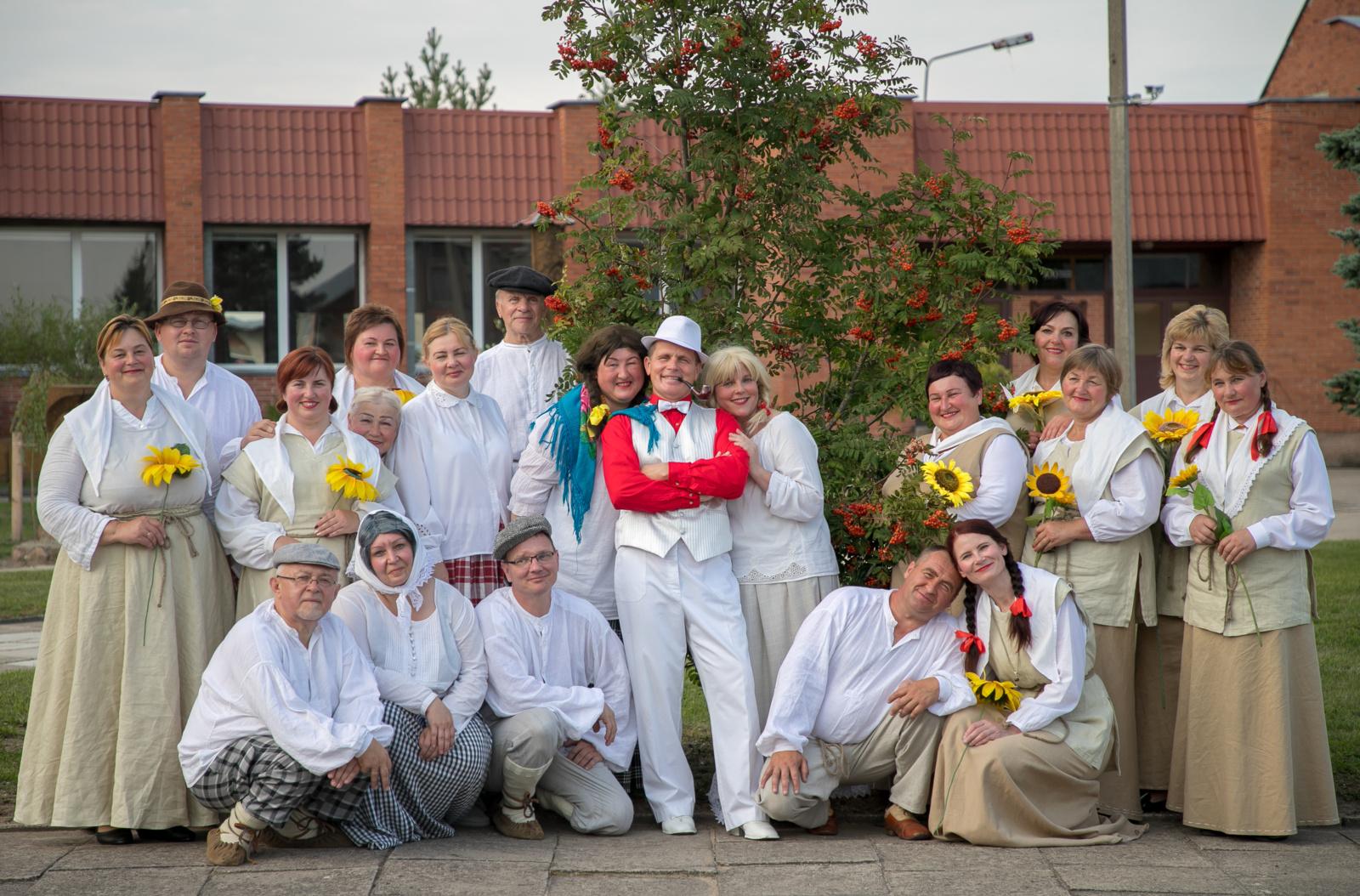 """Teatro gerbėjus kviečia II respublikinė mėgėjų teatrų šventė """"Lauro vainikas"""""""