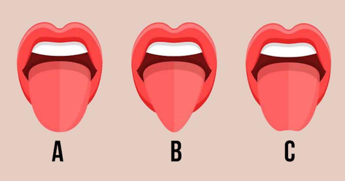 Testas. Parodykite sau liežuvį