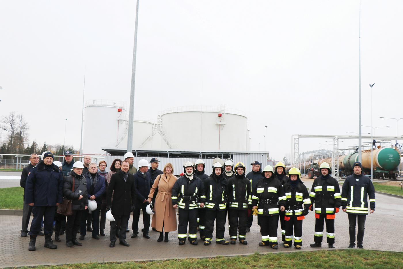 Mockavos terminale – egzaminas ne tik ugniagesiams