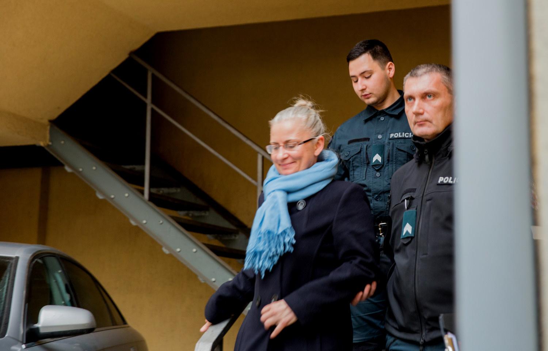 N. Venckienė suimta 2 mėnesiams: aš prie visko pripratusi, iškentėsiu