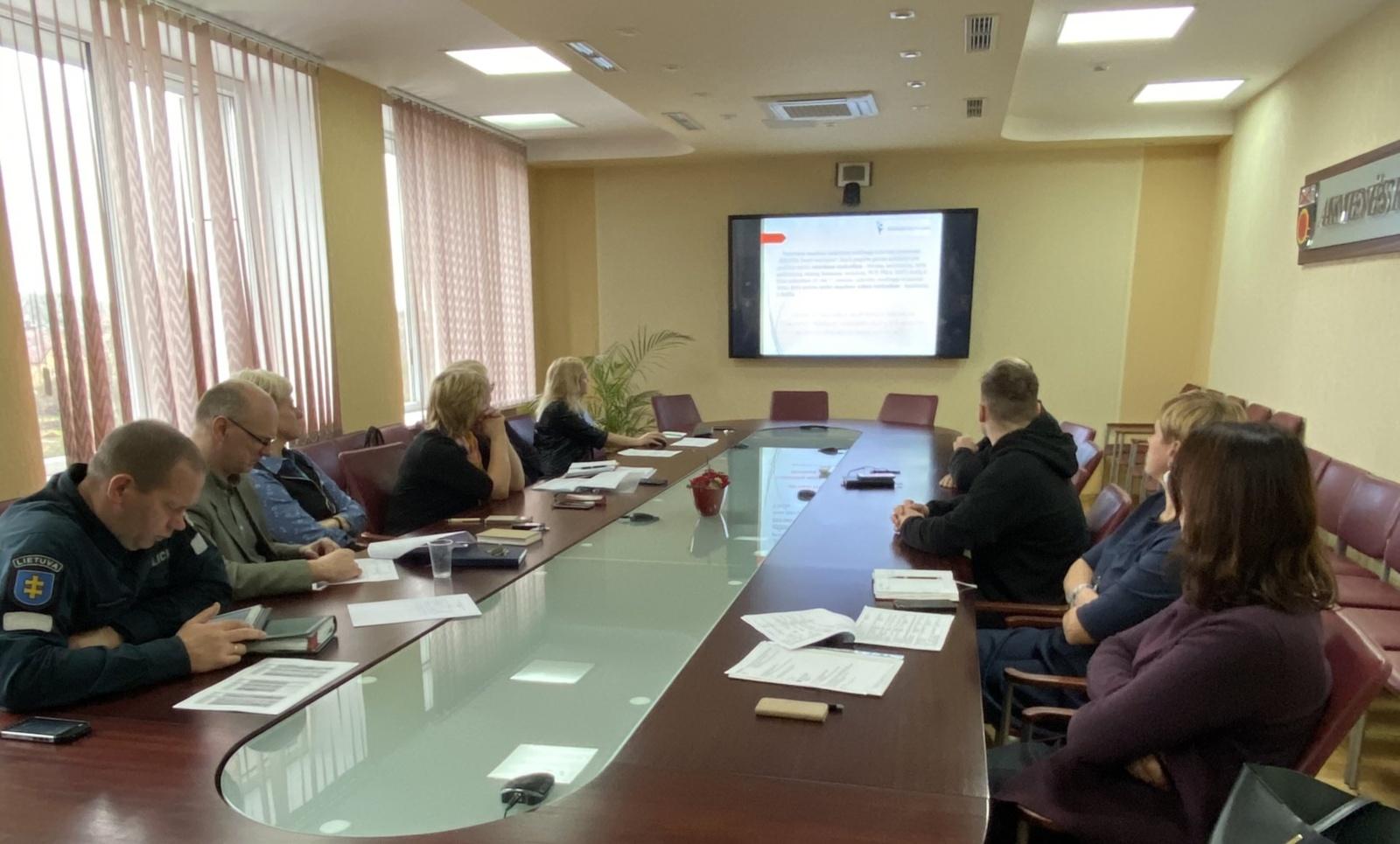Įvyko Akmenės rajono savivaldybės narkotikų kontrolės komisijos posėdis