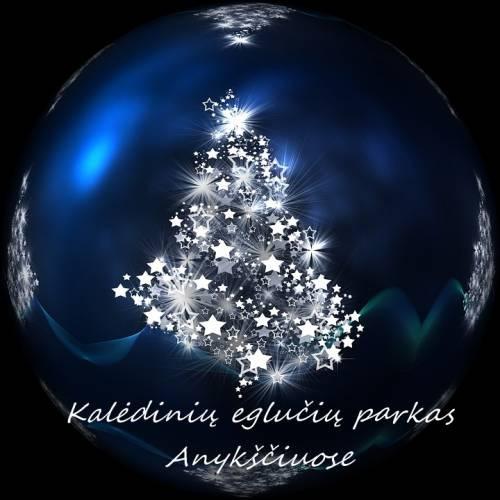 Kalėdines eglutes prašoma apšviesti šviestuvais su saulės baterijomis