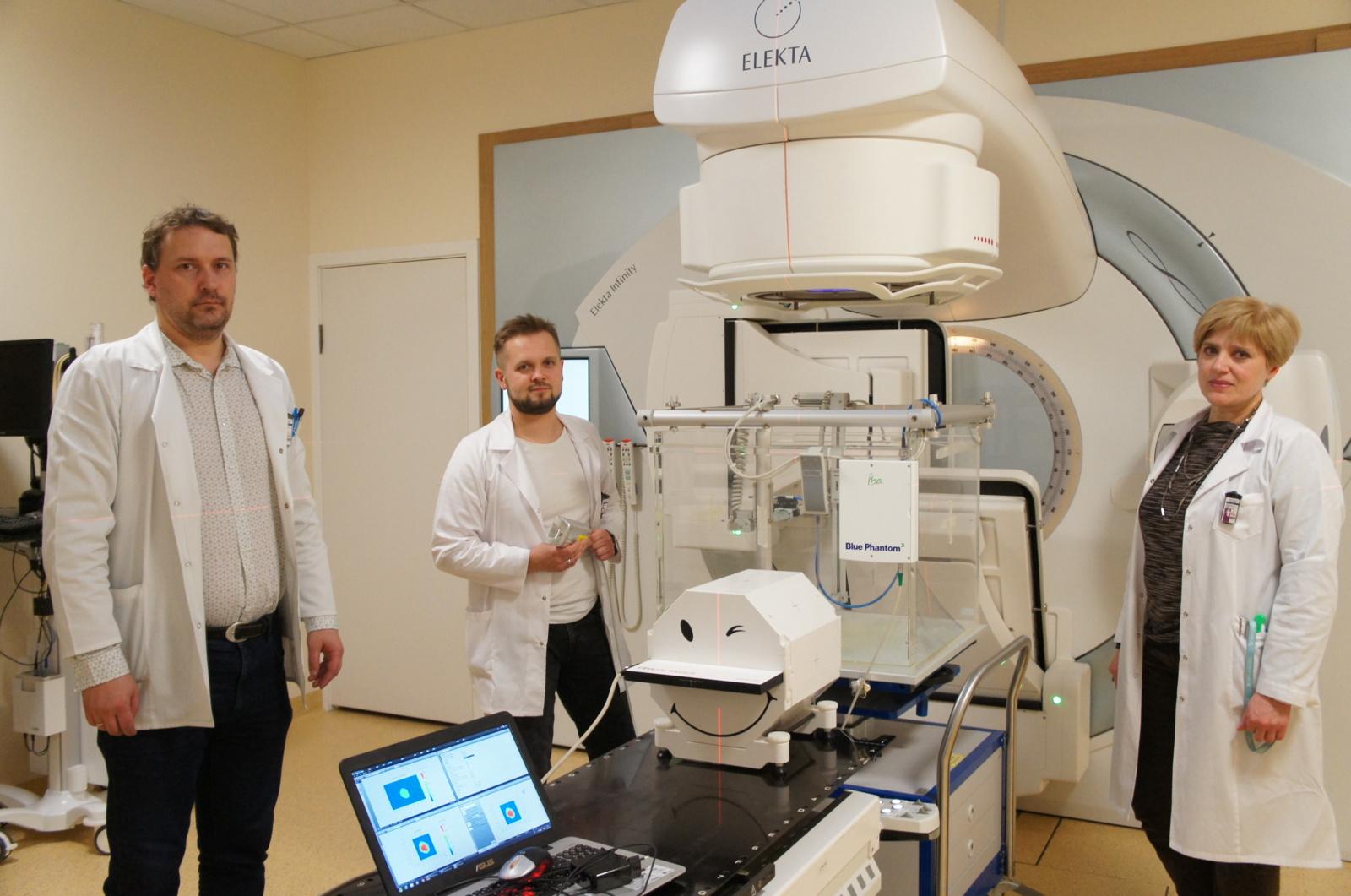 Medicinos fizikai pacientus pažįsta ne iš veidų, bet iš vaizdų