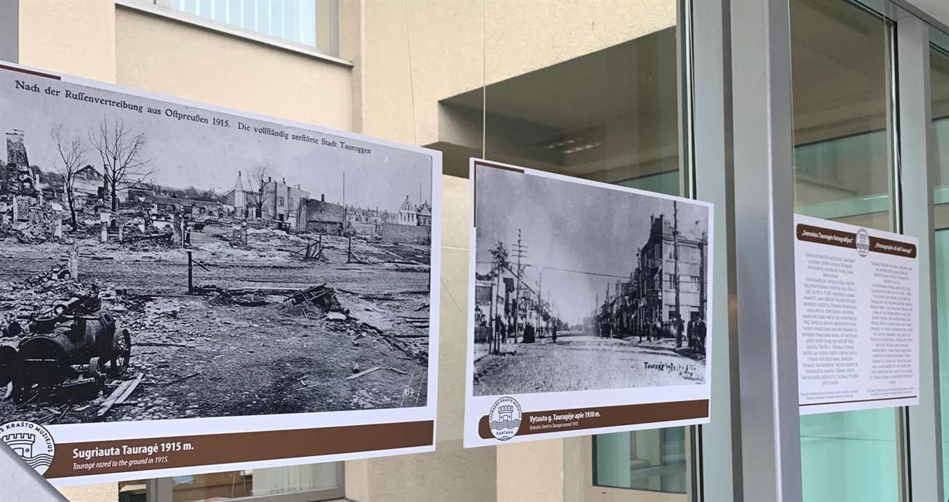 """Seime pristatyta paroda """"Senosios Tauragės fotografijos"""""""