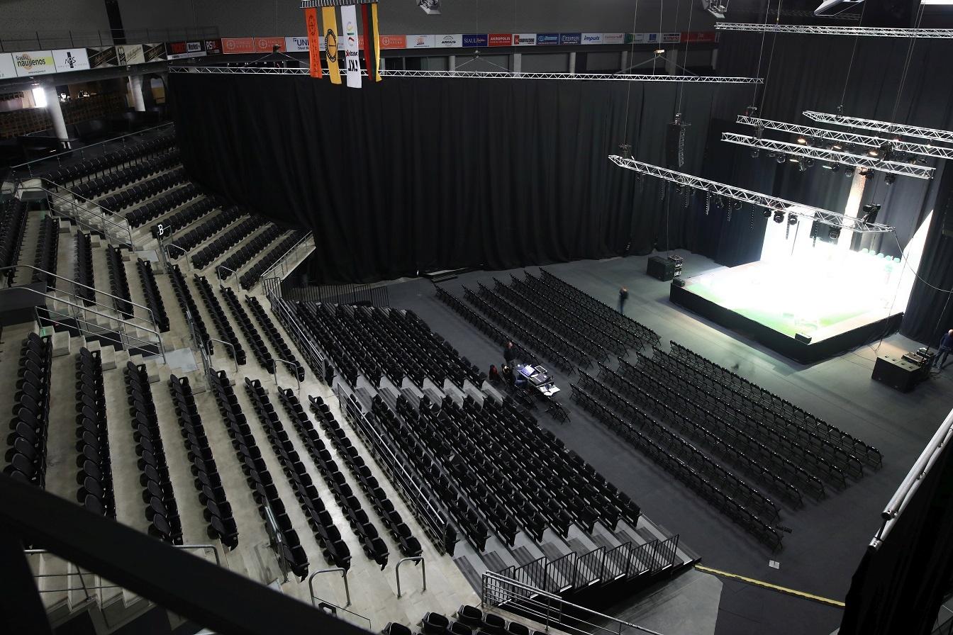 Šiaulių arena pristato naują amfiteatro erdvę: nustebins jaukumu