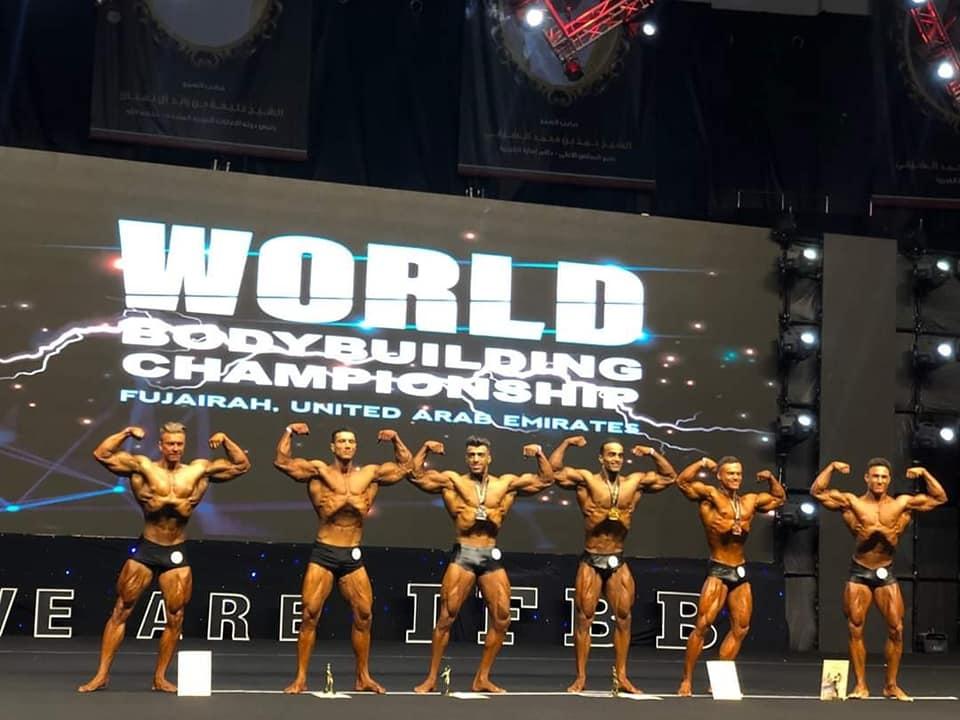 Kultūristas T. Kairys tapo pasaulio vicečempionu