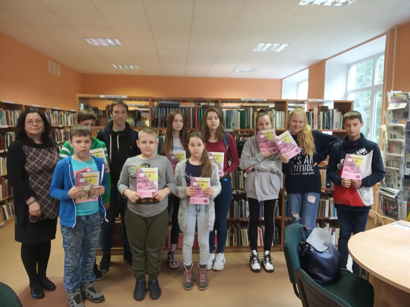 Dusetų meno mokyklos auklėtiniai tarptautiniame projekte