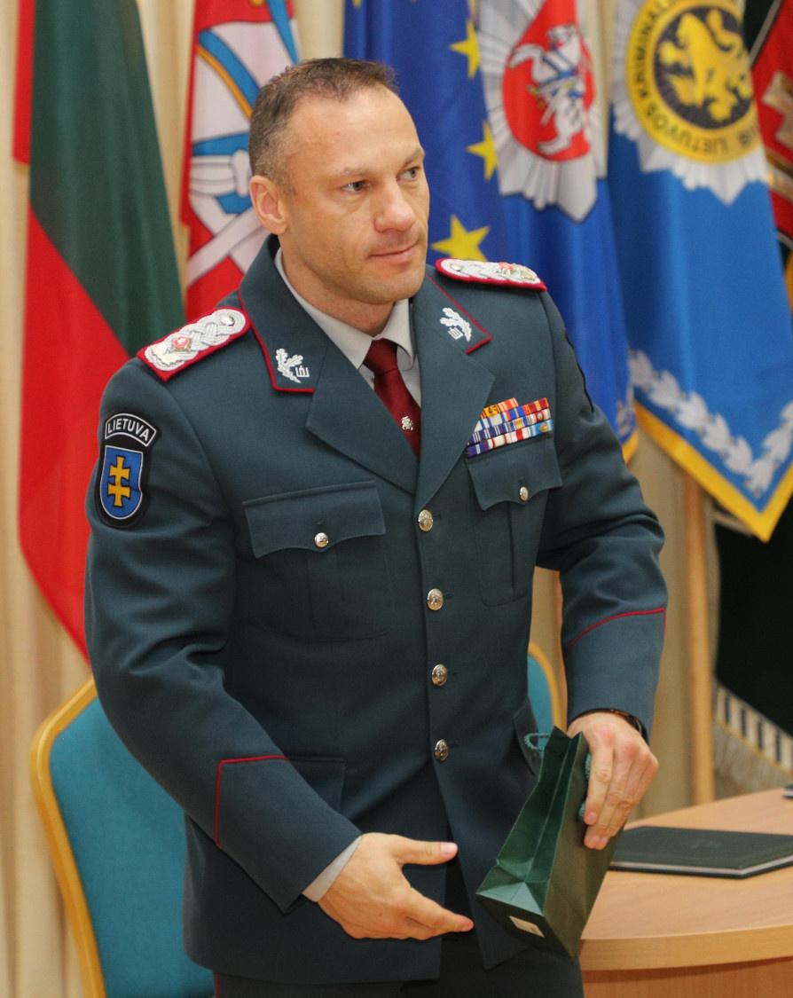 L. Pernavas paskirtas specialiuoju policijos atašė Jungtinėje Karalystėje
