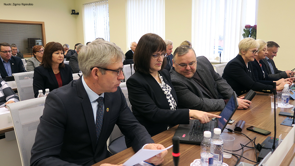 Šiaulių rajono savivaldybės taryba priėmė aktualių sprendimų