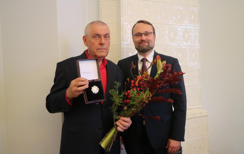 Stasiui Eidrigevičiui įteiktas aukščiausias Kultūros ministerijos apdovanojimas
