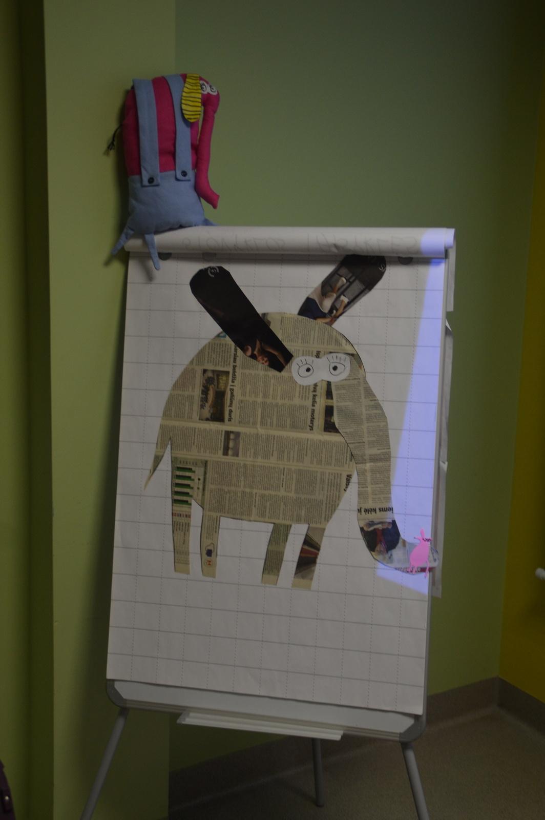 Kūrybinės dirbtuvės su laimingos lapės dailininke Aušra Kiudulaite