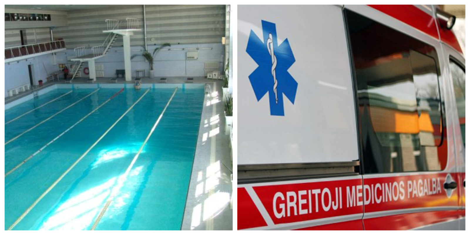 """Nelaimė plaukimo centre """"Delfinas"""": Gelbėtojai gaivino jauną skęsti ėmusį vyrą"""