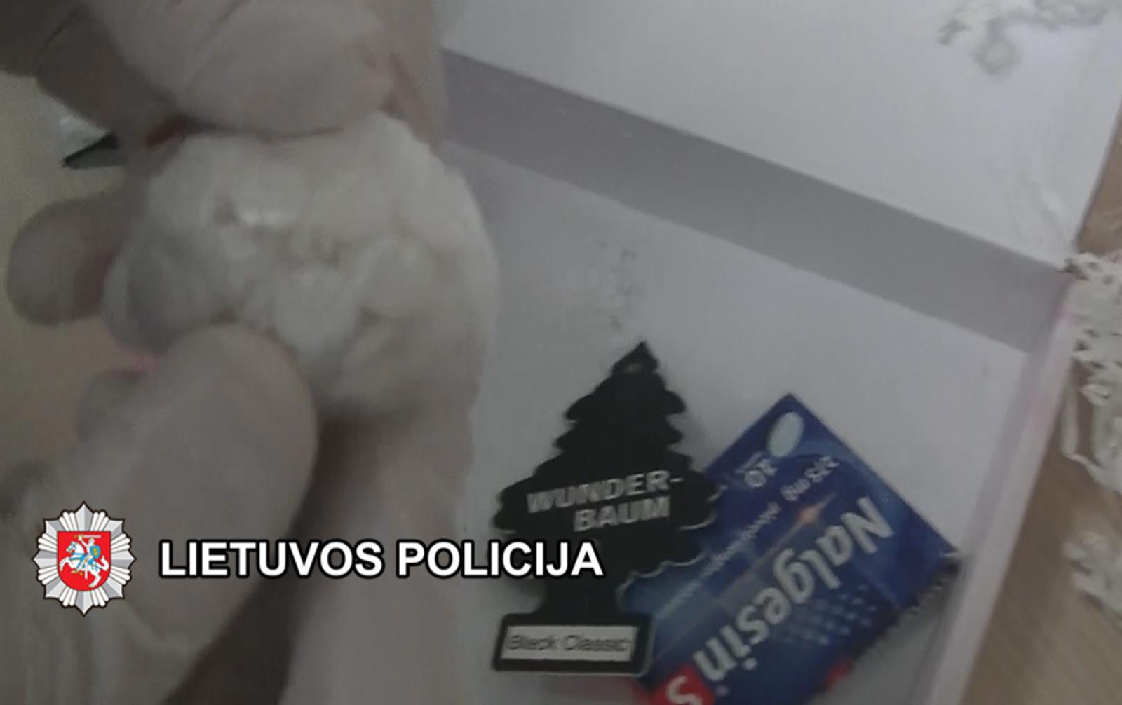 Narkotines medžiagas nuteistajam ketinusios perduoti moterys pačios atsidūrė teisėsaugos akiratyje (vaizdo įrašas)