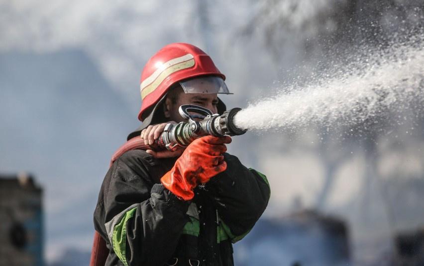 Tauragės rajone degė ūkinis pastatas