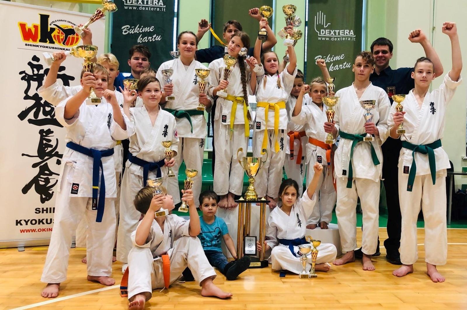 Karatistų pergalės Vakarų Lietuvos taurės varžybose