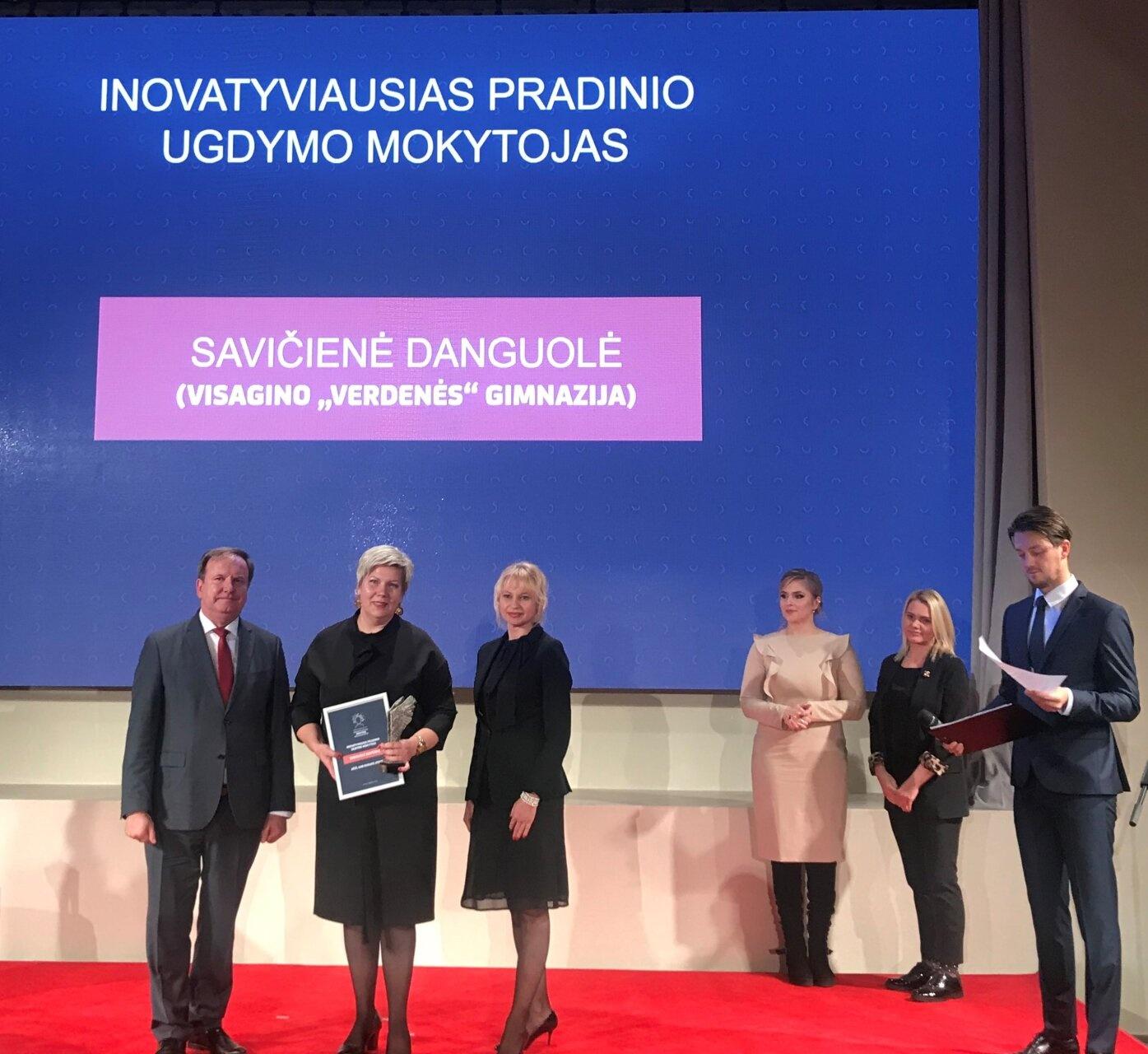 Danguolė Savičienė – inovatyviausia 2019 metų pradinių klasių mokytoja!